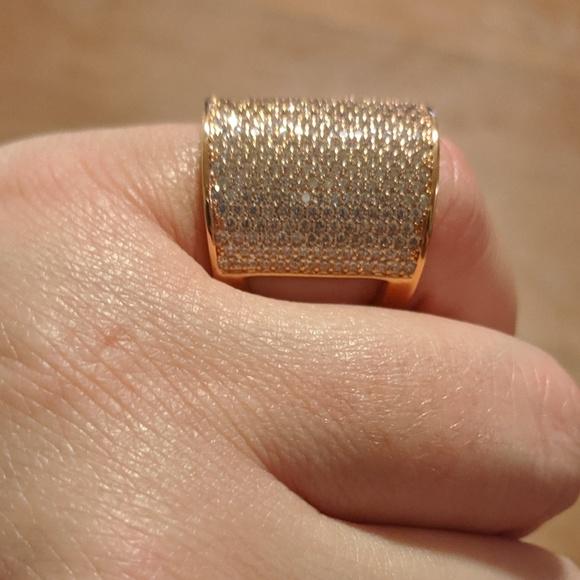 henri bendel Jewelry - Henri Bendel Elements Pave Bold Ring